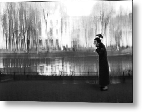 Dolls Metal Print featuring the photograph Stroll Under The Umbrella by larisa Fedotova