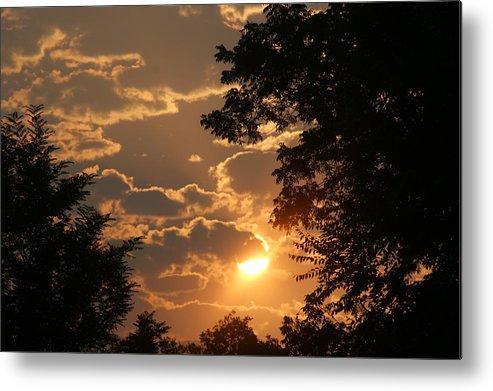 Sunset Metal Print featuring the photograph Summer Sunset 2 by Liz Vernand