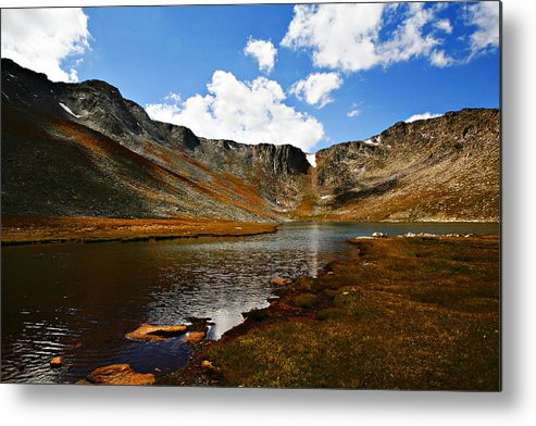 Travel Metal Print featuring the photograph Summit Lake Colorado by Marilyn Hunt