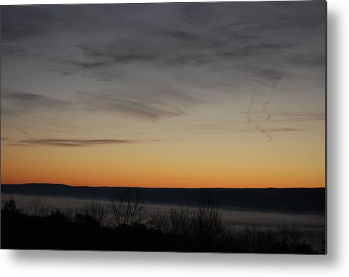 Sunrise Metal Print featuring the photograph Sun Rise Over Nippenose Valley by Richard Botts