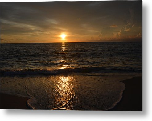 Sunrise Metal Print featuring the photograph Sunday Morning by Rosanne Ricard
