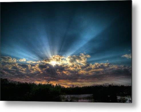 Sunrise Metal Print featuring the photograph Sunrise by Antonieta Casanova