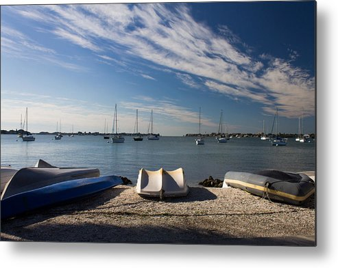 Marina Jacks Metal Print featuring the photograph Sunrise At The Bay by Michael Tesar