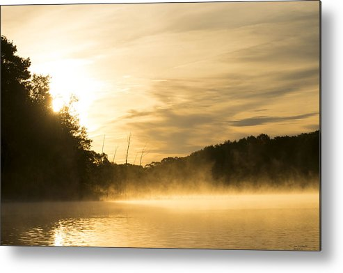 Sunrise Metal Print featuring the photograph Sunrise Of Fire by Jan Mulherin