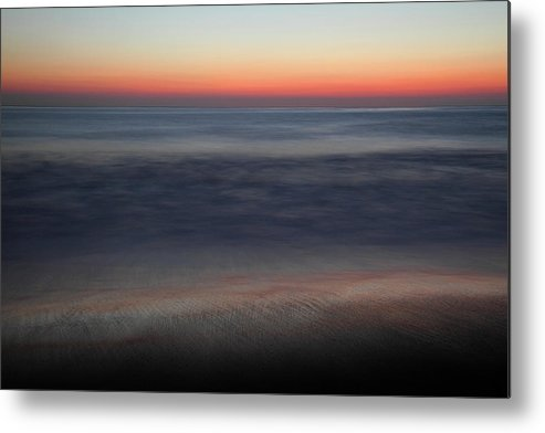 Huntington Metal Print featuring the photograph Sunset At Huntington Beach by Pierre Leclerc Photography