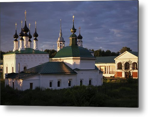 Suzdal Metal Print featuring the photograph Sunset In Suzdal by Alexander Lobanov