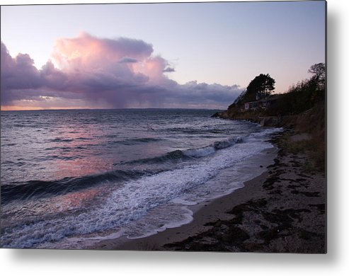 Sea Metal Print featuring the photograph Sunset In The Ocean by Renee Pettersson