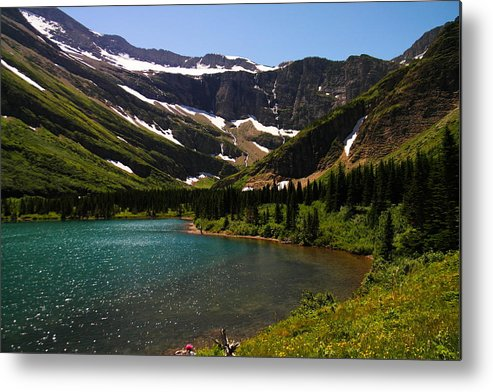 Lake Metal Print featuring the photograph Swift Current Lake by Jeff Swan