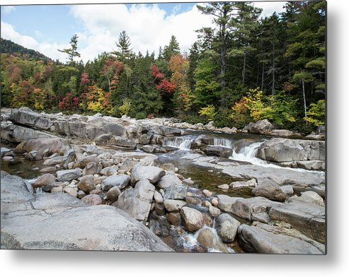 Creek Metal Print featuring the photograph Swift River, New Hampshire by Scott Ludgin