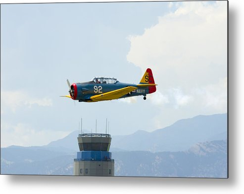 T-6g Metal Print featuring the photograph T-6g by Brian Jordan
