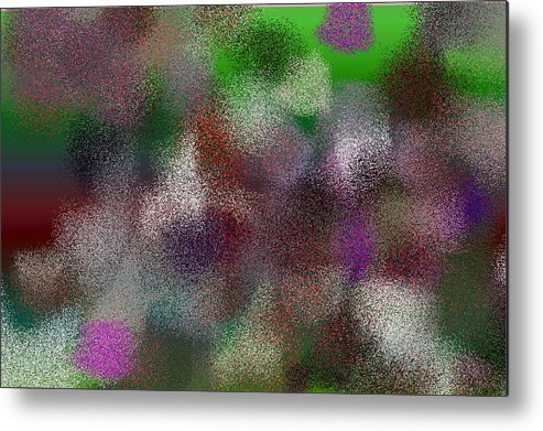 Abstract Metal Print featuring the digital art T.1.999.63.3x2.5120x3413 by Gareth Lewis