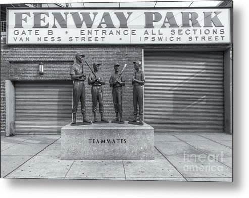 Clarence Holmes Metal Print featuring the photograph Teammates II by Clarence Holmes