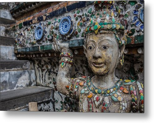 Temple Metal Print featuring the photograph Temple Guard by Jordan Smith