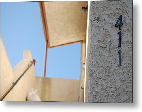 Architecture Metal Print featuring the photograph The 4-1-1 by William Lorton