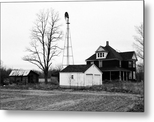 Barn Metal Print featuring the photograph The Country by Moby Kane