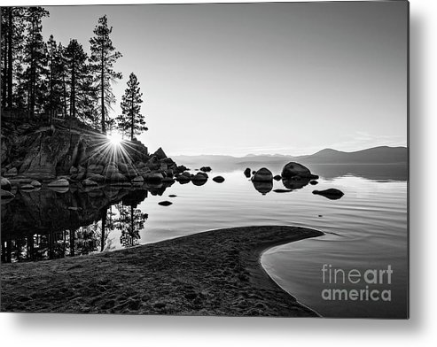 Sand Harbor Metal Print featuring the photograph The Cove by Jamie Pham