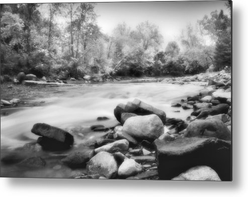 Bedford Metal Print featuring the photograph The Creek by Kenneth Krolikowski