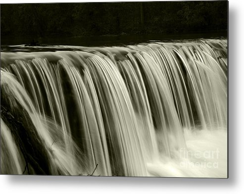 Waterfalls Metal Print featuring the photograph The Falls by Timothy Johnson