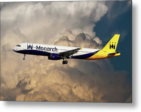 Monarch Airlines Metal Print featuring the photograph The Final Flight by Smart Aviation