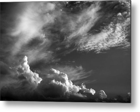 Clouds Metal Print featuring the photograph The Fine Art Of Clouds by Jim Darnall