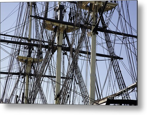 Salem Metal Print featuring the photograph The Friendship Of Salem Tall Ship In Salem Massachusetts Usa by Erin Paul Donovan