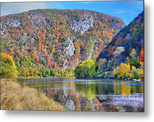 Delaware Metal Print featuring the photograph The Gap by DJ Florek