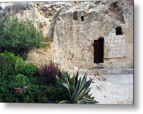 Israel Metal Print featuring the photograph The Garden Tomb by Thomas R Fletcher