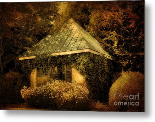 Gatehouse Metal Print featuring the photograph The Gatehouse by Lois Bryan