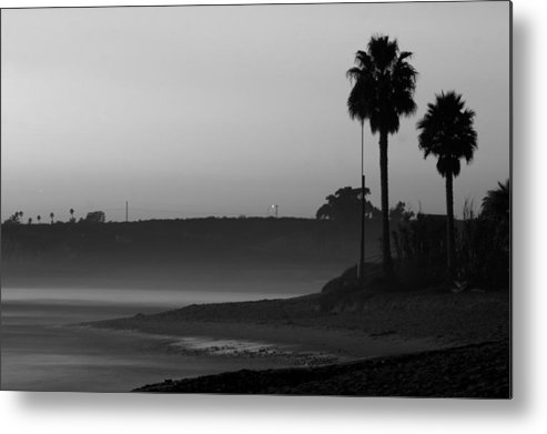 Landscape Metal Print featuring the photograph The Ghost Tide Of San Onofre by Brad Scott