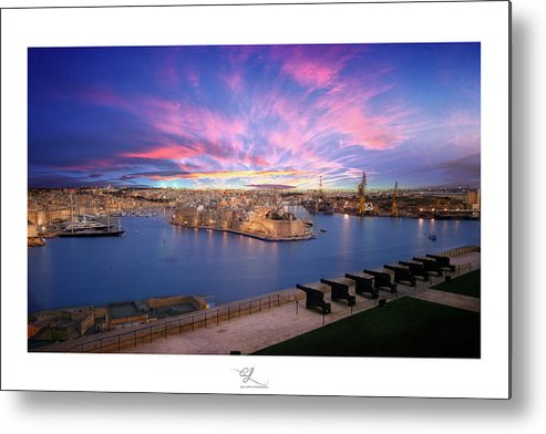 Fortifications Metal Print featuring the photograph The Gran Harbour by Adel Ferrito