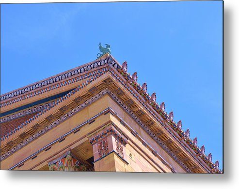 Griffin Metal Print featuring the photograph The Griffin by Marla McPherson