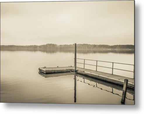 2018 Metal Print featuring the photograph The Lake #22 by Wade Brooks