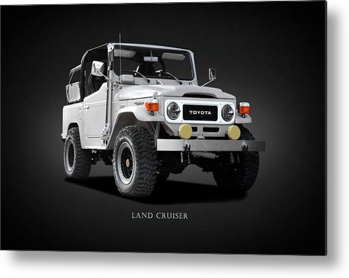 Land Cruiser Bj40 Metal Print featuring the photograph The Land Cruiser by Mark Rogan