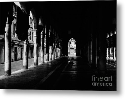 Venedig Metal Print featuring the photograph The Market Hall by Dirk Goldbach