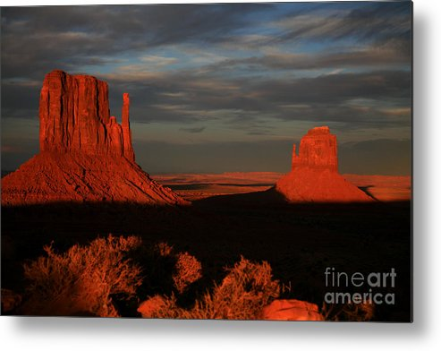 The Mittens Metal Print featuring the photograph The Mittens by Timothy Johnson
