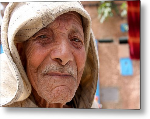 Morocco Metal Print featuring the photograph The Moroccan Man by Jason Hochman