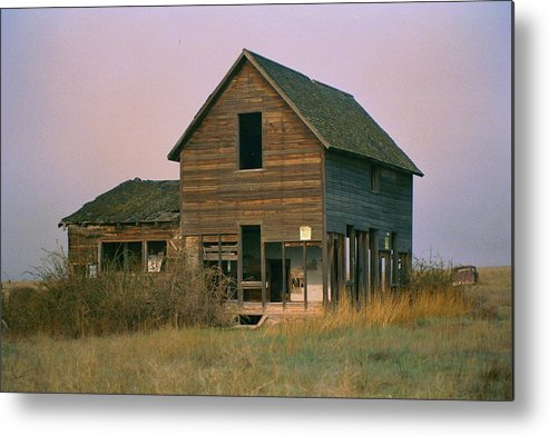 Old Metal Print featuring the photograph The Old Homestead by JoJo Photography