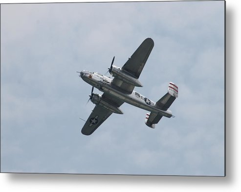 B-25 Metal Print featuring the photograph The Panchito by Robert Banach