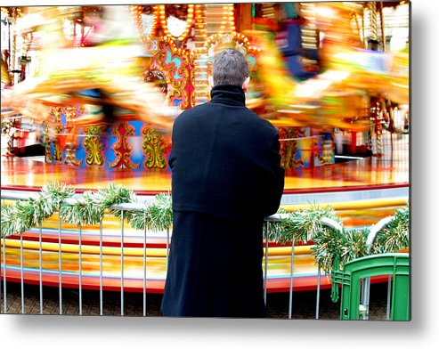Jez C Self Metal Print featuring the photograph The Patient Father by Jez C Self