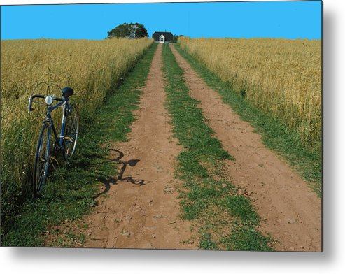 Dirt Metal Print featuring the photograph The Road To Home by Carl Purcell