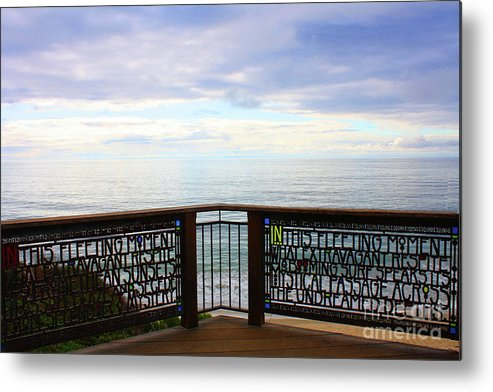 Laguna Beach Metal Print featuring the photograph The Romance Of Laguna Beach by Tommy Anderson