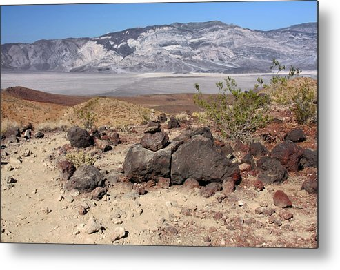 Death Valley National Park Metal Print featuring the photograph The Salt Flats Of Death Valley by Christine Till