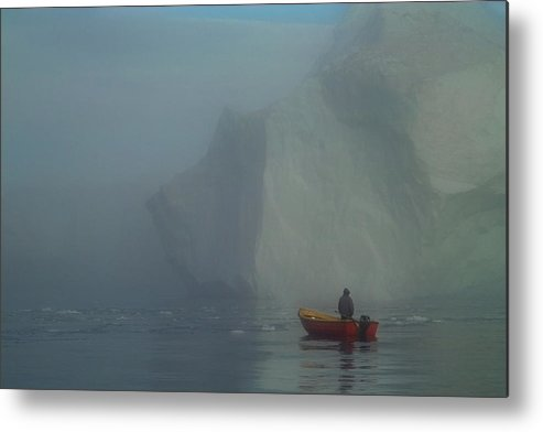 Sealhunter Metal Print featuring the photograph The Sealhunter by Robert Lacy