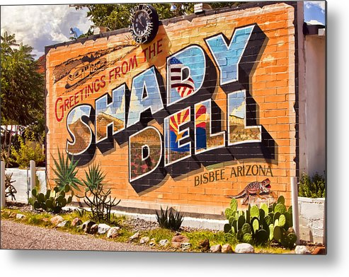 Bisbee Metal Print featuring the photograph The Shady Dell Bisbee Az by Lynn Andrews