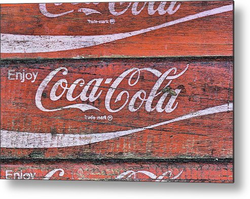 Coke Metal Print featuring the photograph The Stack by JC Findley