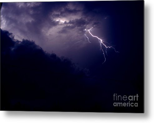 Sky Metal Print featuring the photograph The Storm 1.3 by Joseph A Langley