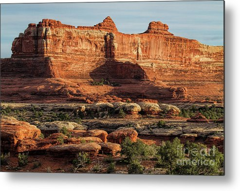 Utah Landscape Metal Print featuring the photograph The Valley Of Kings by Jim Garrison