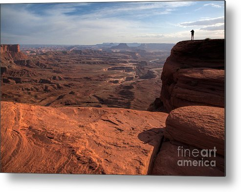 Utah Metal Print featuring the photograph The Vast Lands by Jim Garrison
