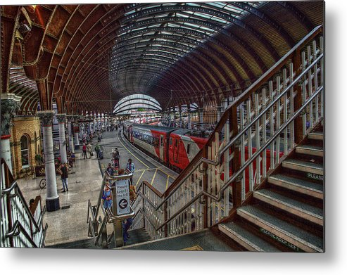 York Metal Print featuring the photograph The York Train Station by Mark Hunter