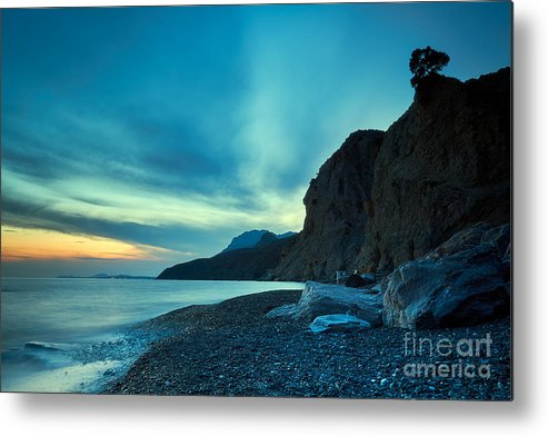 Dramatic Sunset Metal Print featuring the photograph Therma Area, Kos Island, Greece by Konstantinos Chatziamallos